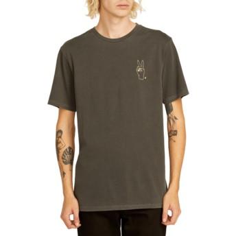T-shirt à manche courte noir Good Luck Black Volcom