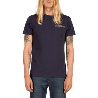 T-shirt à manche courte bleu marine Soundmaze Indigo Volcom