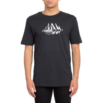 T-shirt à manche courte noir Stone Sounds Black Volcom