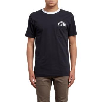 T-shirt à manche courte noir Vert Black Volcom