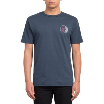 T-shirt à manche courte bleu marine Find Indigo Volcom