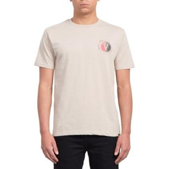 T-shirt à manche courte beige Find Oatmeal Volcom