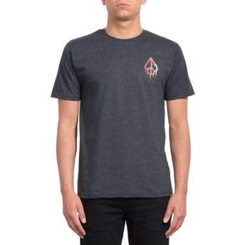 T-shirt à manche courte noir Roots Heather Black Volcom