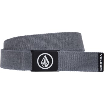 Ceinture grise Circle Web Charcoal Heather Volcom