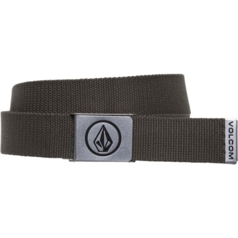 Ceinture marron Circle Web Military Volcom