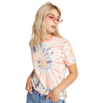 T-shirt à manche courte multicolore Zipn N Tripn Multi Volcom