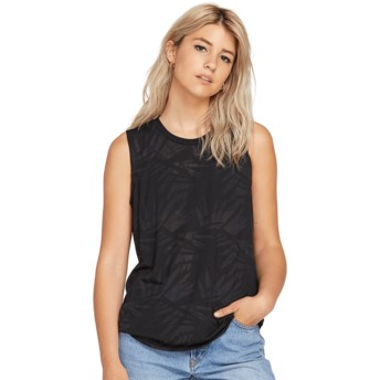 T-shirt sans manches noir Geo Arty Black Volcom