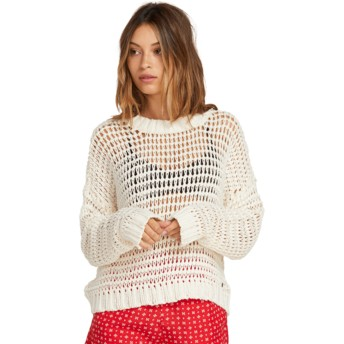 Pull blanc Daze Fly By Star White Volcom