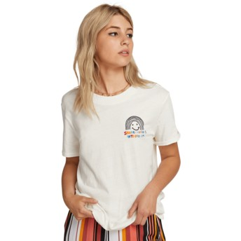 T-shirt à manche courte blanc Ozzie Rainbow White Volcom