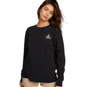 T-shirt à manche longue noir Vlcm 1991 Black Volcom