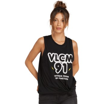 T-shirt sans manches noir Breaknot Black Volcom