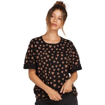 T-shirt à manche courte noir Stone Splif Black Volcom