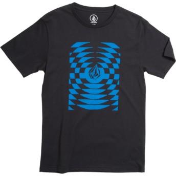 T-shirt à manche courte noir pour enfant Check Wreck Division Black Volcom