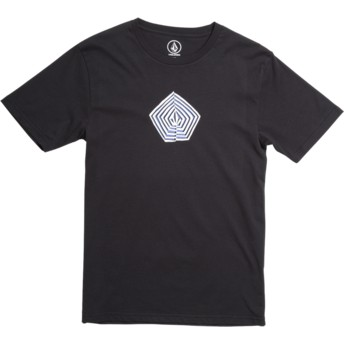 T-shirt à manche courte noir pour enfant Noa Band Division Black Volcom