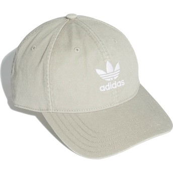 Casquette courbée grise ajustable Washed Adicolor Adidas