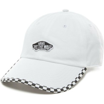 Casquette courbée blanche ajustable Check It Vans
