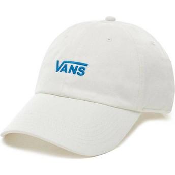 Casquette courbée blanche ajustable Court Side Vans