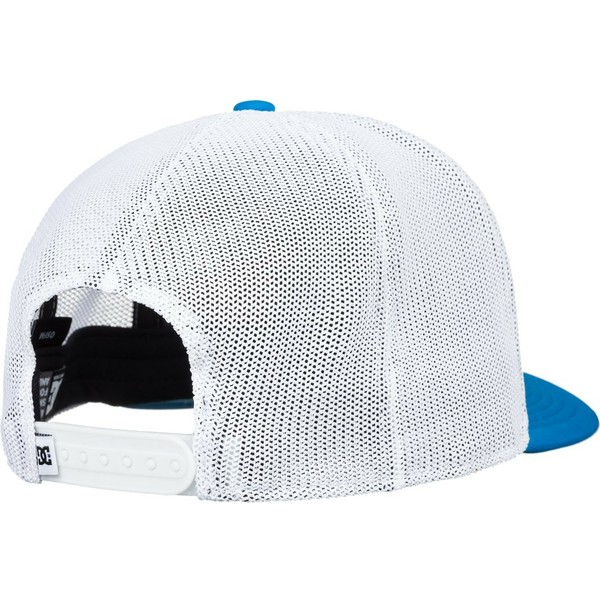 casquette-trucker-bleue-et-blanche-vested-up-dc-shoes