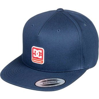 Casquette plate bleue marine snapback Snapdragger DC Shoes
