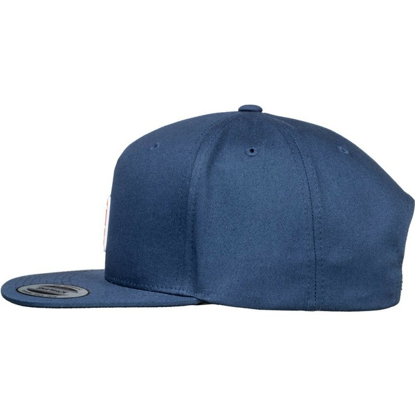 casquette-plate-bleue-marine-snapback-snapdragger-dc-shoes