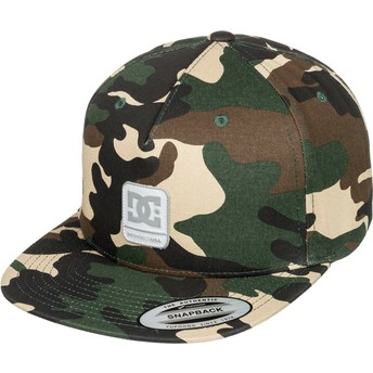 Casquette plate camouflage snapback Snapdragger DC Shoes