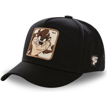 Casquette courbée noire snapback Diable de Tasmanie TAZ5 Looney Tunes Capslab