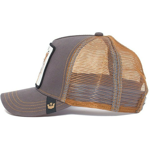 casquette-trucker-marron-tigre-eye-of-the-tiger-goorin-bros