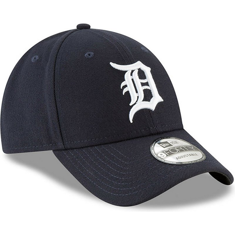 casquette-courbee-bleue-marine-ajustable-9forty-the-league-detroit-tigers-mlb-new-era