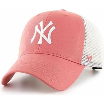 Casquette trucker rouge MVP Flagship New York Yankees MLB 47 Brand