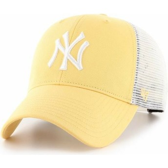 Casquette trucker jaune MVP Flagship New York Yankees MLB 47 Brand