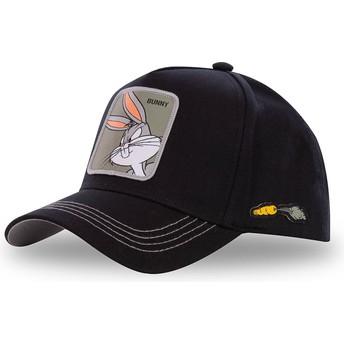 Casquette courbée noire snapback Bugs Bunny BUN3 Looney Tunes Capslab