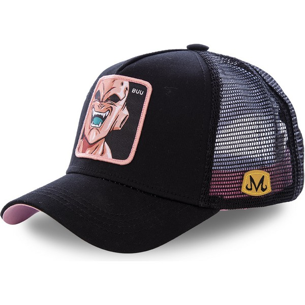 casquette-trucker-noire-kid-buu-buu-dragon-ball-capslab