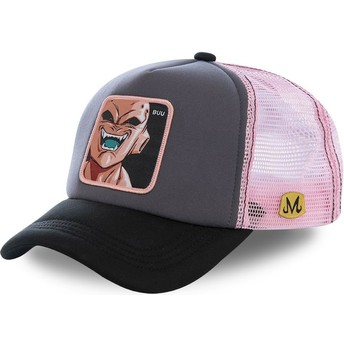 Casquette trucker grise et rose Kid Buu BUU3M Dragon Ball Capslab