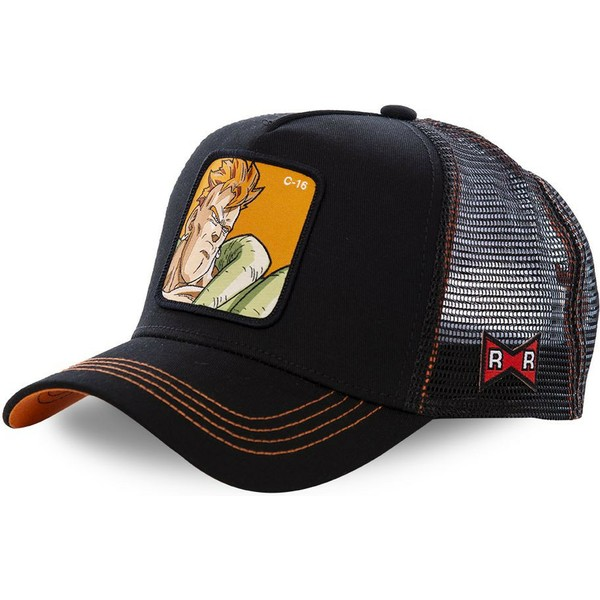casquette-trucker-noire-android-c-16-c16b-dragon-ball-capslab