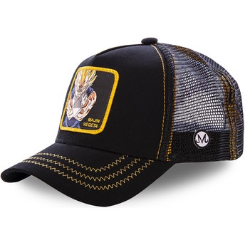 Casquette trucker noire Majin Vegeta MV2 Dragon Ball Capslab