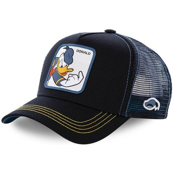 Casquette trucker noire Donald Fauntleroy Duck DON2 Disney Capslab