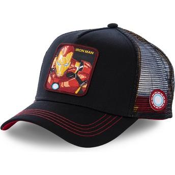 Casquette trucker noire Iron Man IRO2 Marvel Comics Capslab