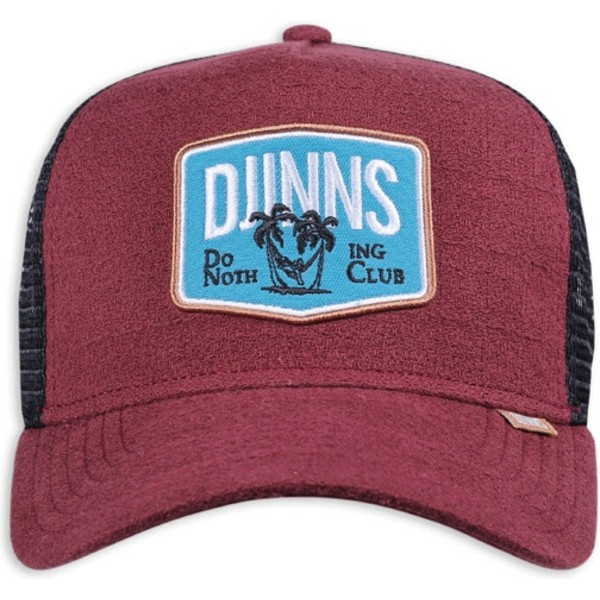 casquette-trucker-rouge-nothing-club-sucker-djinns