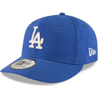 Casquette courbée bleue snapback 9FIFTY Nylon Pre Curved Fit Los Angeles Dodgers MLB New Era