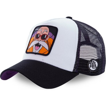 Casquette trucker blanche Master Roshi KAM4 Dragon Ball Capslab