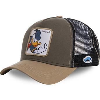 Casquette trucker marron Donald Fauntleroy Duck DON1 Disney Capslab