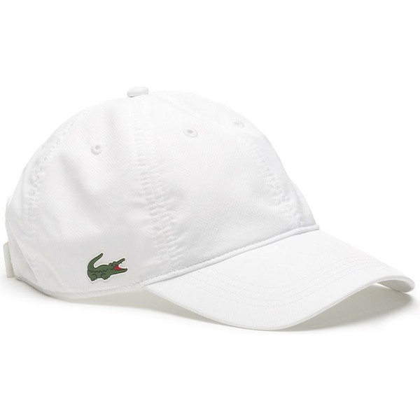 casquette-courbee-blanche-ajustable-basic-dry-fit-lacoste