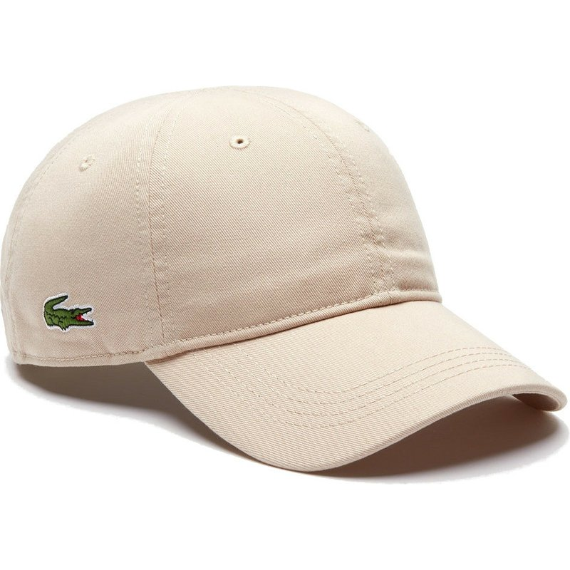 casquette-courbee-beige-ajustable-basic-side-crocodile-lacoste