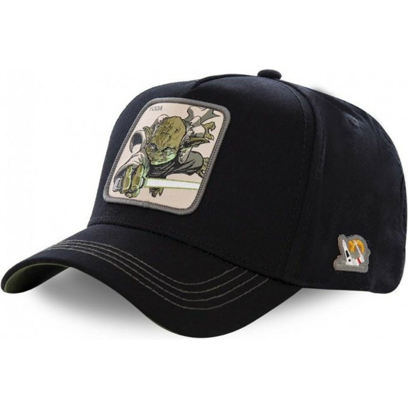 casquette-courbee-noire-snapback-yoda-yod3-star-wars-capslab