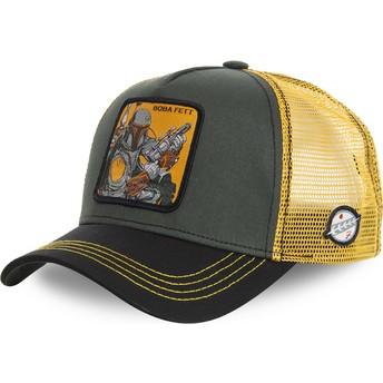 Casquette trucker verte et jaune Boba Fett BOB Star Wars Capslab