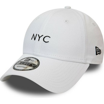 Casquette courbée blanche ajustable 9FORTY Seasonal NYC New Era