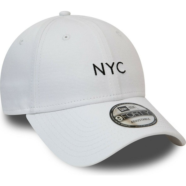 casquette-courbee-blanche-ajustable-9forty-seasonal-nyc-new-era
