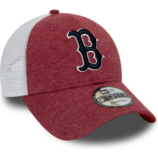 casquette-trucker-rouge-et-blanche-9forty-summer-league-boston-red-sox-mlb-new-era