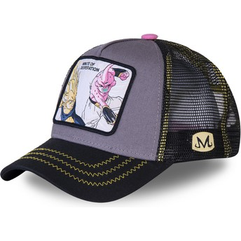 Casquette trucker grise Vegeta Vs Kid Buu Minute of Desperation DES1 Dragon Ball Capslab