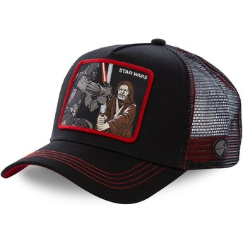 Casquette trucker noire Darth Vader Vs Obi-Wan LTD2 Star Wars Capslab